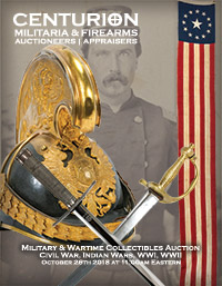 Military Wartime Collectibles Auction Civil War Indian WWI WWII Vietnam Oct 2018