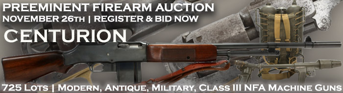Buy Collect Sale of Firearm Auction of Modern Antique Military Class III NFA Machine Guns Class III NFA Suppressors November 26 2018