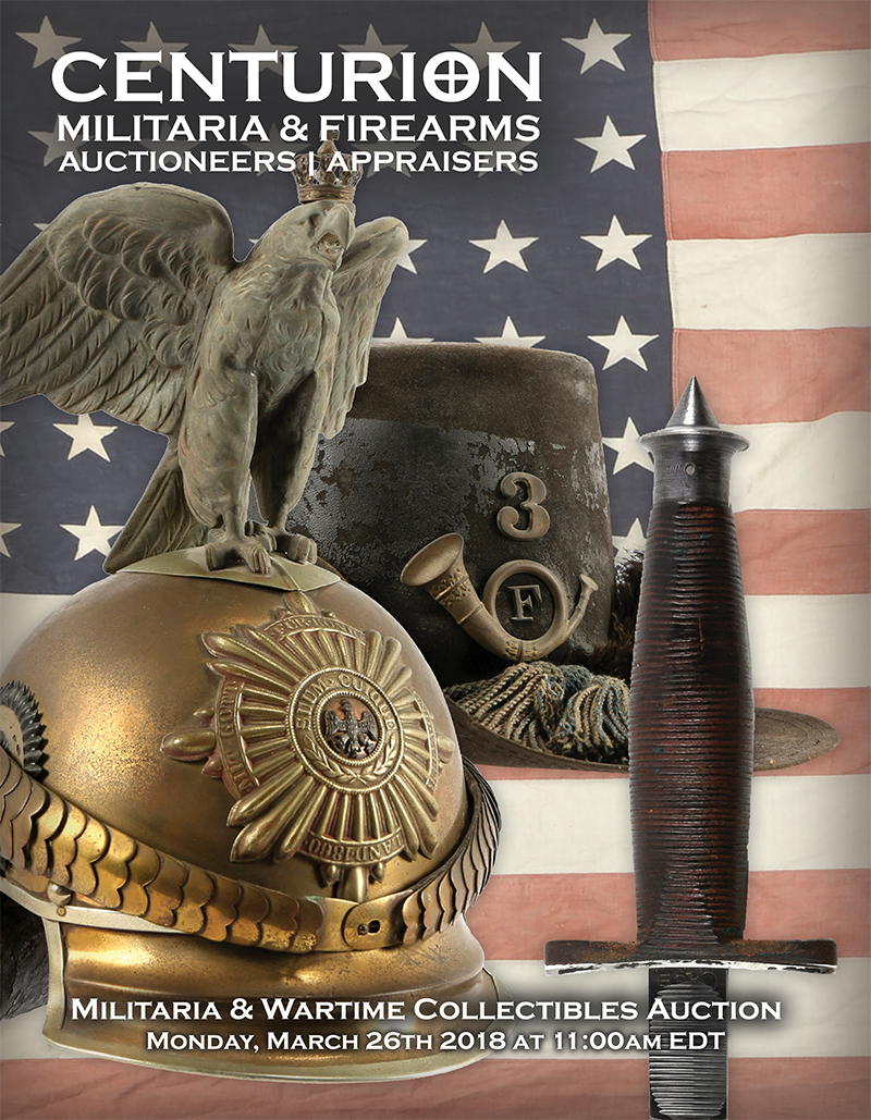 Military Wartime Collectible Auction March 26 2018