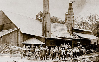 Brandywine Iron Works and Nail Factory (Federal Mill on Buck Run)