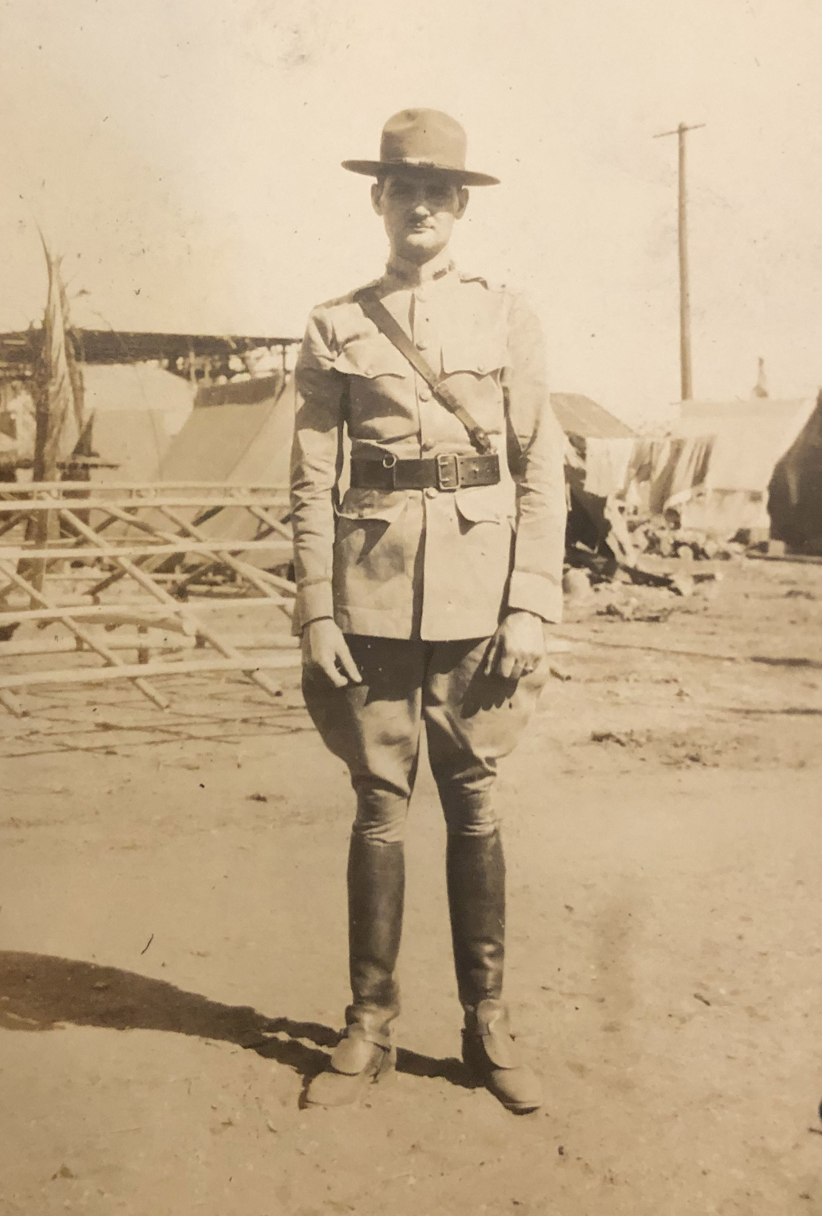 Colonel Walter Buie   Young Army Officer Undated 1920s Photograph